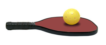 Pickleball and paddle